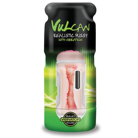 Vulcan Realistic Pussy w/Vibration - Cream
