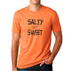 Salty But Sweet Black Unisex Cotton T-Shirt