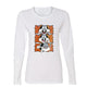 Bugs Bunny Rolling and Smoking Women's Long Sleeve T-Shirt