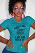 Sorry I Can't.I Have Plans with My Cat Women's Poly-Cotton T-Shirt