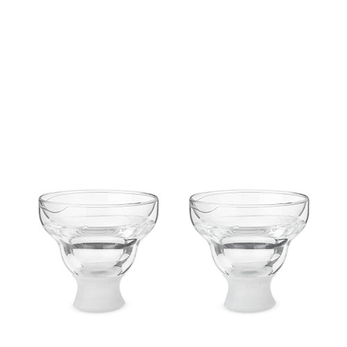 Glass FREEZE Margarita Glass by HOST® - Set of 2