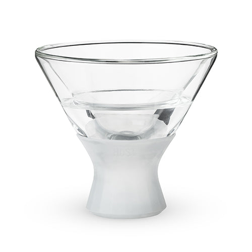 Glass FREEZe Martini Glass by HOST® - Set of 2