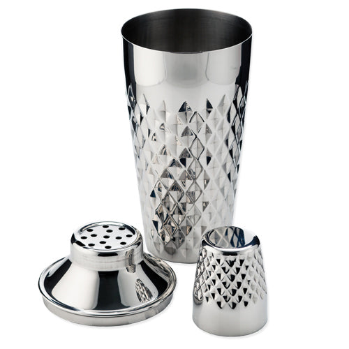 Admiral™ Stainless Steel Faceted Cocktail Shaker by Viski