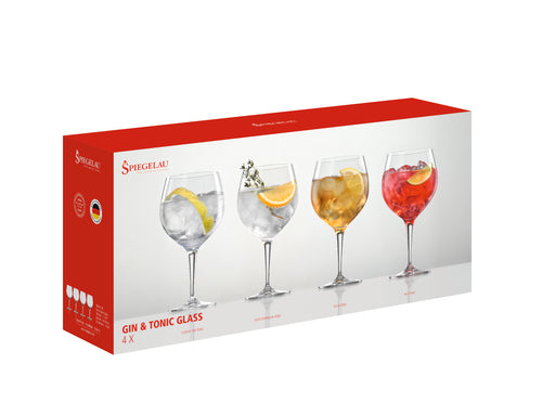 Spiegelau 21 Oz. Gin and Tonic Glass - Set of 4