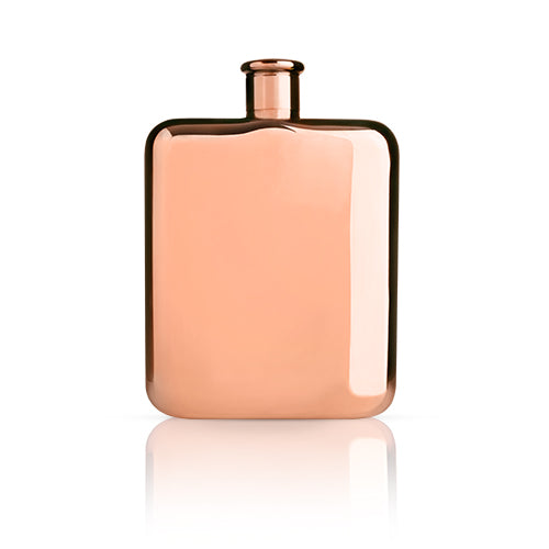 Summit™ Copper Plated Flask by Viski