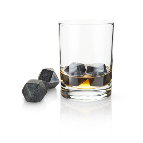 Glacier Rocks® - Hexagonal Ice Cubes (Set of 4)