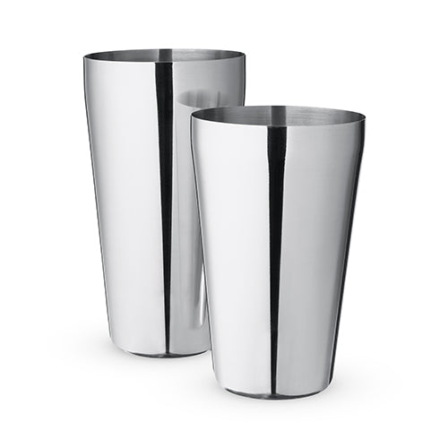 Advance Stainless Steel Boston Shaker Tins by True