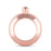 Charade: Rose Gold Bracelet Flask