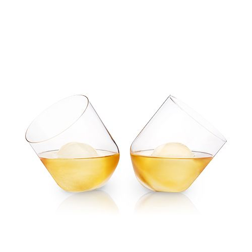 Rolling Crystal Whiskey Tumblers by Viski®