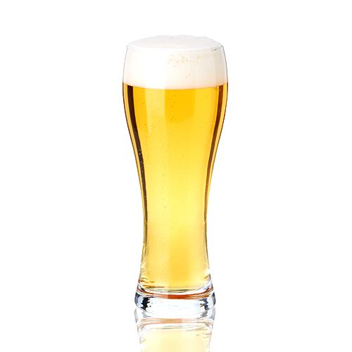 Wheat Beer Glass by True, Set of 4 - 16 oz.