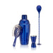 Blue Barware Set