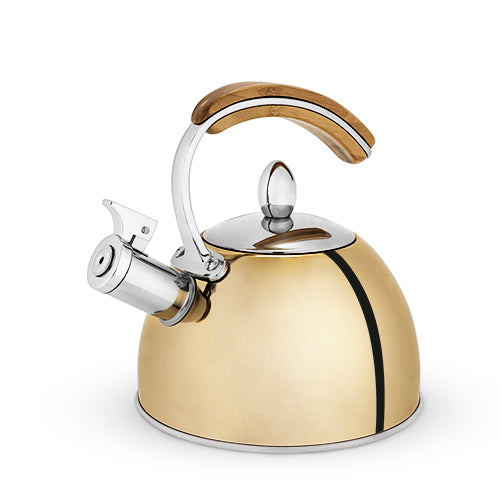 Presley™ Gold Tea Kettle by Pinky Up®