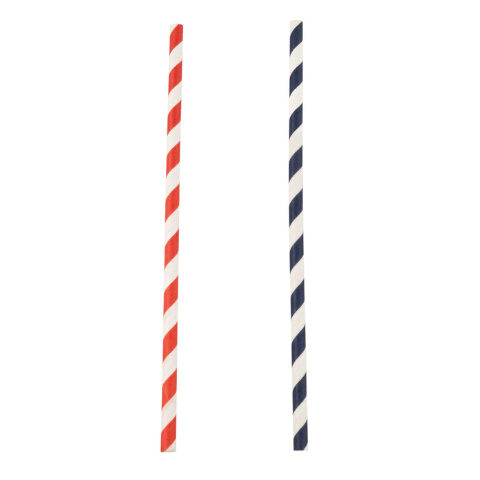 Striped Straws by Twine