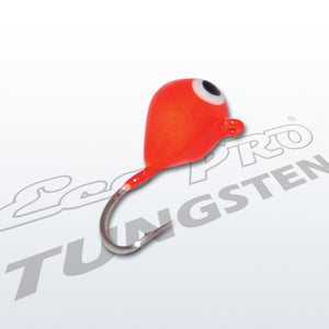 Tungsten Tear Drop Ice Jig