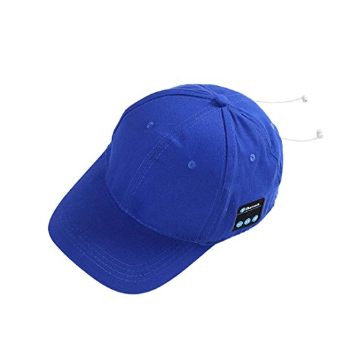 ee61f3bb8b560 Amazon.com  2018 Fashion Bluetooth Hat Outdoor Sport Baseball Cap Earphone  Call Music Hats (Blue)  Software