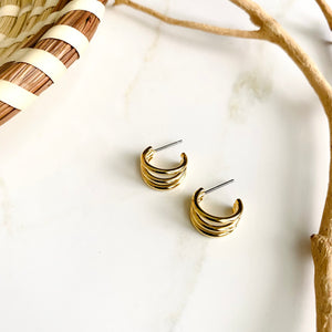18K Gold Filled Earrings