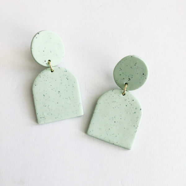 Emma // Mint Green Clay