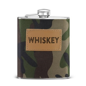 Whiskey camo flask
