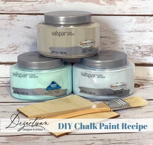DIY Chalk Paint Recipe