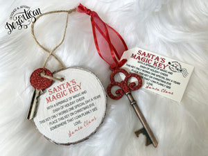 "How To Tutorial on making ""Santa's Magic Key"""