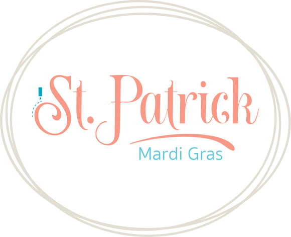 St. Patrick & Mardi Gras designs in SVG | DXF formats.