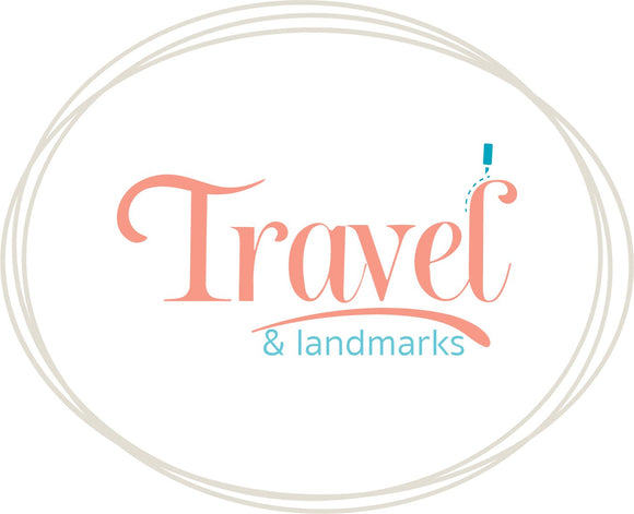 Travel and Landmark SVG | DXF Cut Files