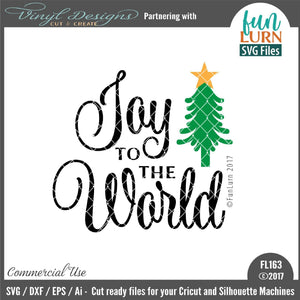 Joy to the world Cut File