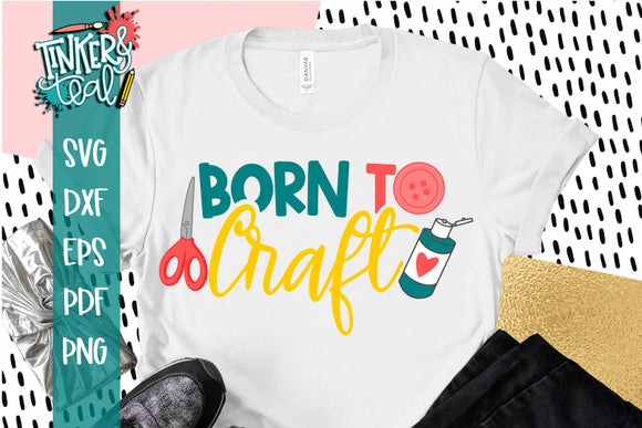 Born to craft SVG - cut file