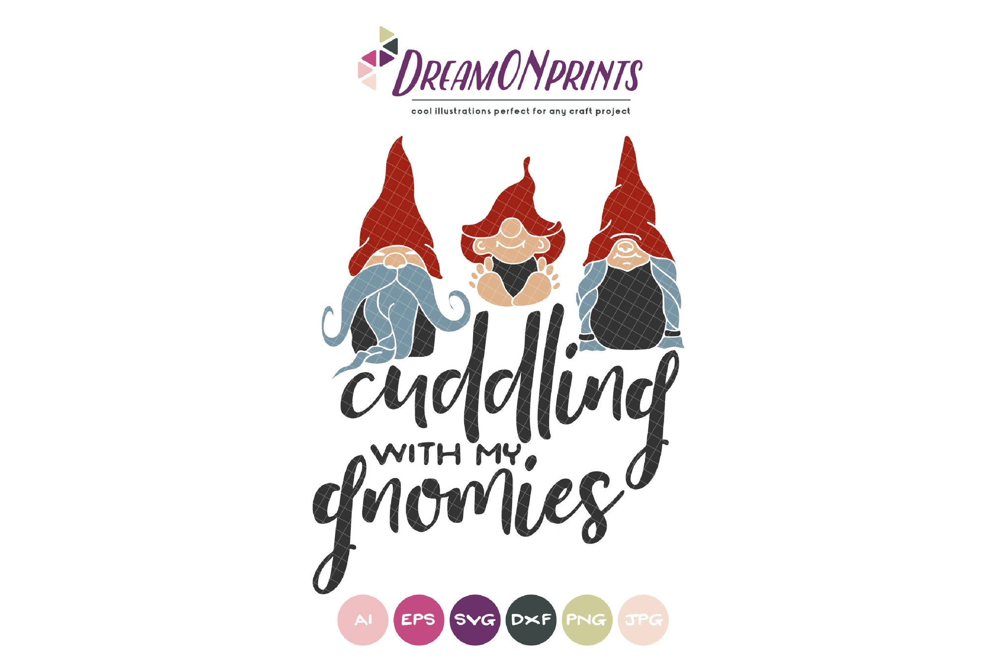 Christmas Gnome Svg.Gnome Svg Cuddling With My Gnomies Svg