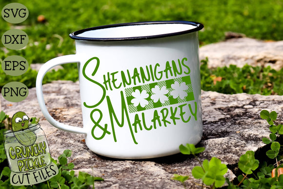 Shenanigans & Malarkey - St. Patrick's Day SVG File