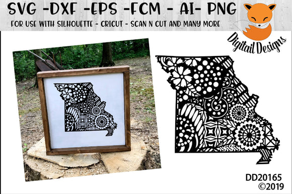 Zentangle Missouri State