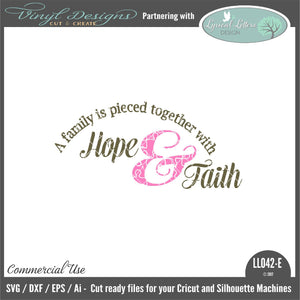 A Family Is Pieced Together With Hope and Faith