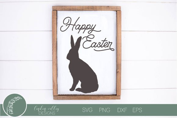 Happy Easter SVG|Bunny SVG|Easter Bunny SVG