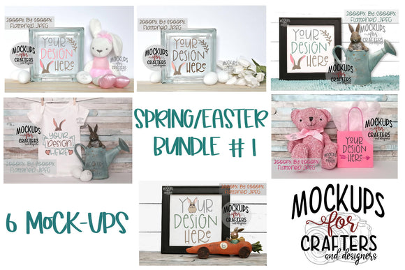 SPRING/EASTER MOCKUP BUNDLE #1