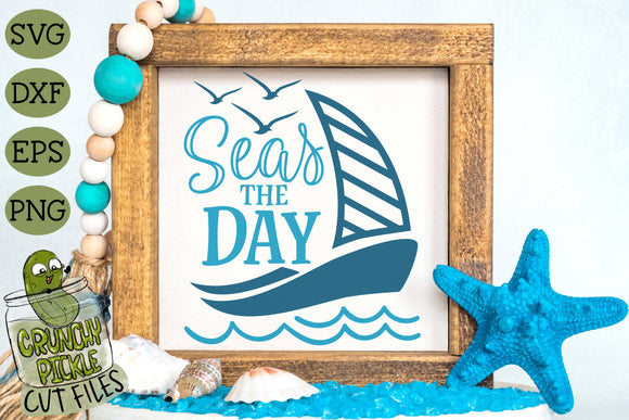 Seas the Day SVG Cut File