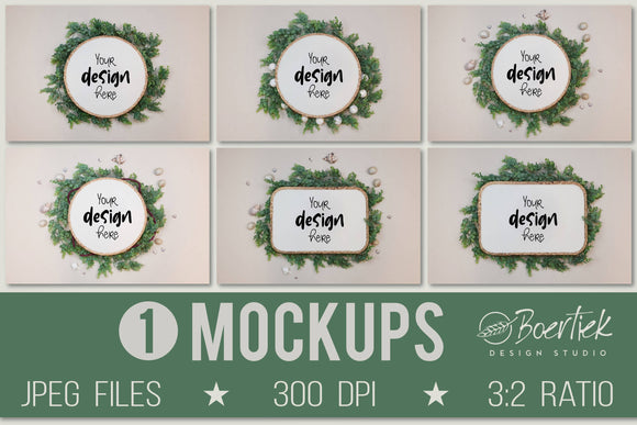 Mockup bundle 1| JPEG | 6 mockups