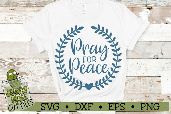 Pray for Peace SVG
