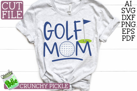 Golf Mom Sports SVG