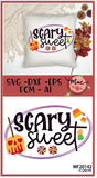 Scary Sweet SVG