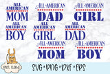 All American Bundle with Bonus SVGs