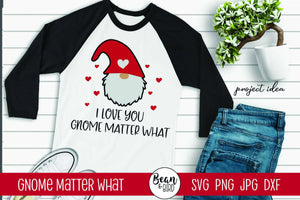 Gnome Matter What Valentines SVG