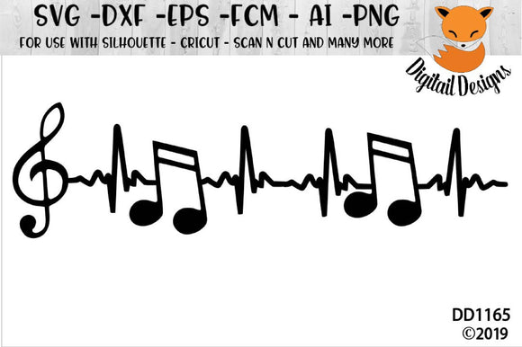 Music EKG Heartbeat