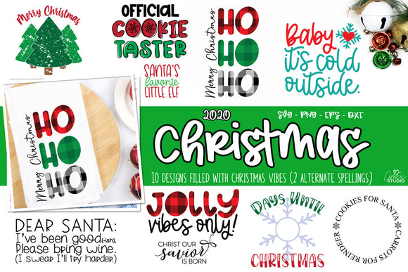 Christmas 2020 SVG Bundle