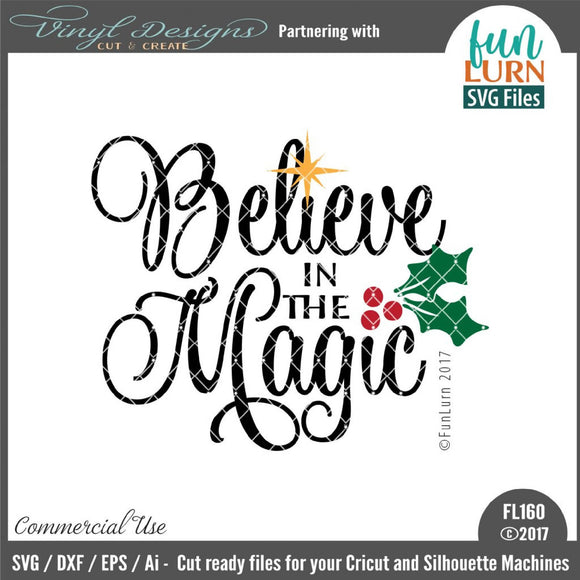 Believe in the Magic Cut File