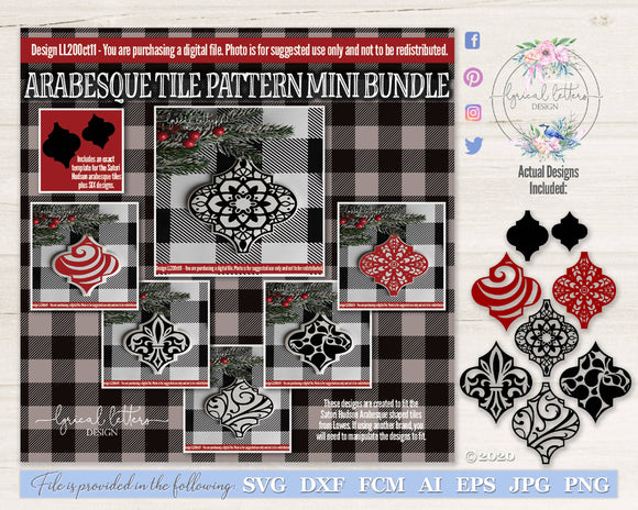 Arabesque Pattern Tile Mini Bundle LL20Oct11