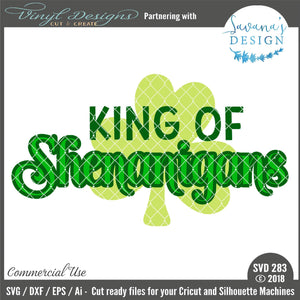 King of Shenanigans Cut File