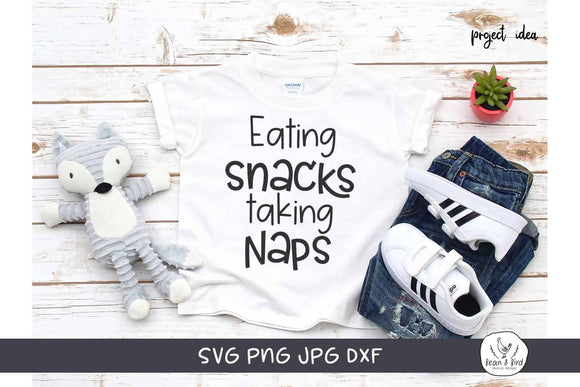 Eating Snacks Taking Naps