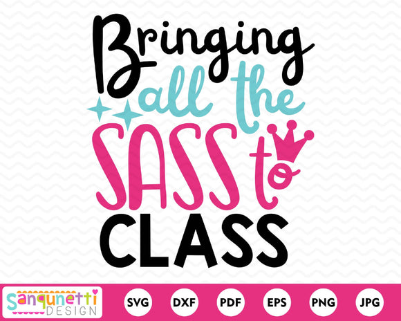 Bringing All the Sass To Class SVG Cutting file