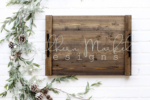 WOOD TRAY SIGN FARMHOUSE DIGITAL MOCK UP STOCK PHOTOGRAPHY