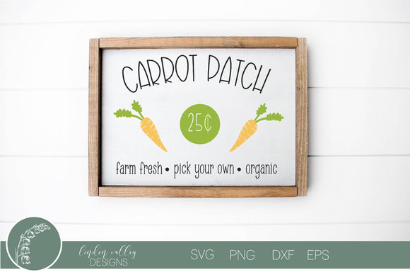 Carrot Patch SVG